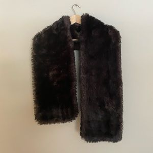 Express Faux Fur Scarf